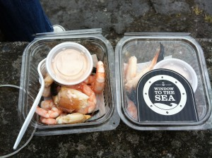 Window to the Sea Connemara Prawns and Crab Claws