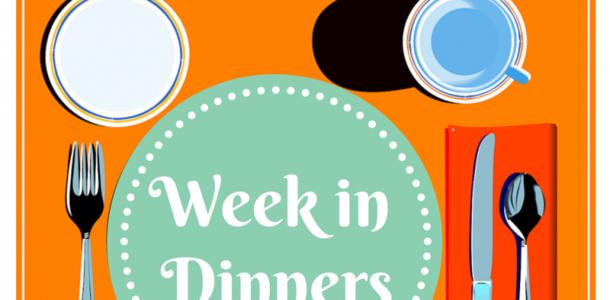typical week dinners