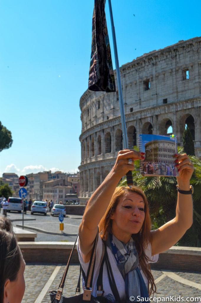 Outside the Colosseum - City Wonders