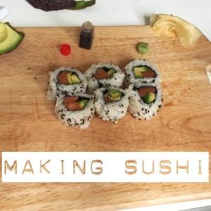 Sushi making masterclass with Fiona Uyema at Taste of Dublin Festival 2015