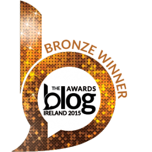 Saucepan Kids are delighted to have won the Bronze Award for 'Best Food Blog' at the Blog Awards Ireland 2015