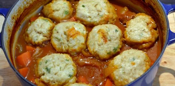 Beef Stew And Dumplings Saucepan Kids