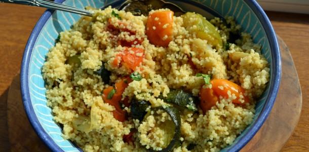 couscous roasted veg