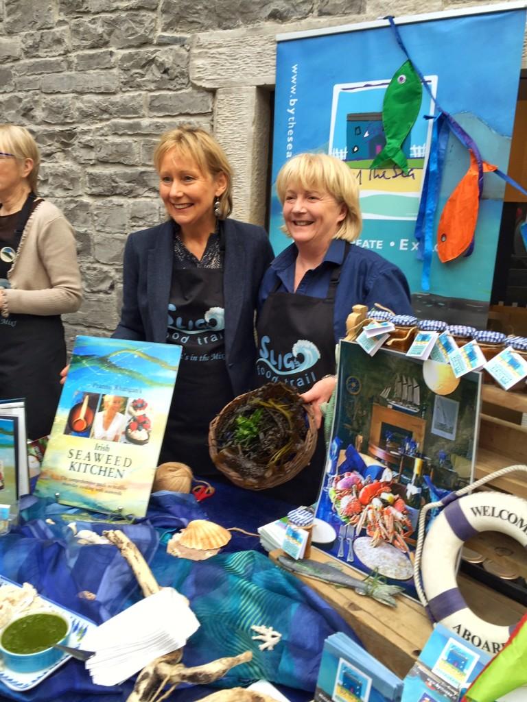 Eithna O'Sullivan and Dr. Prannie Rhatigan at Sligo Food Trail Launch