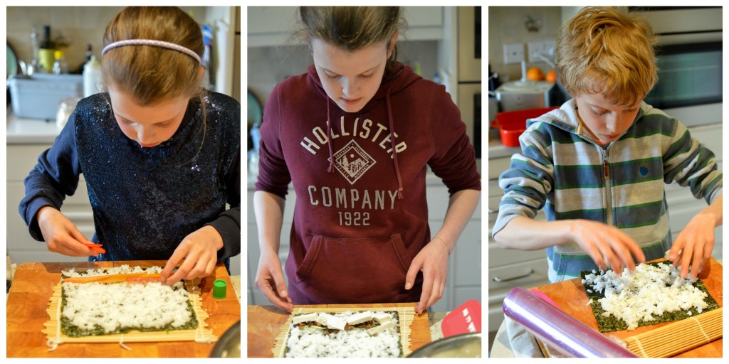 Making sushi with kids - Sushi Sisters - Saucepan Kids