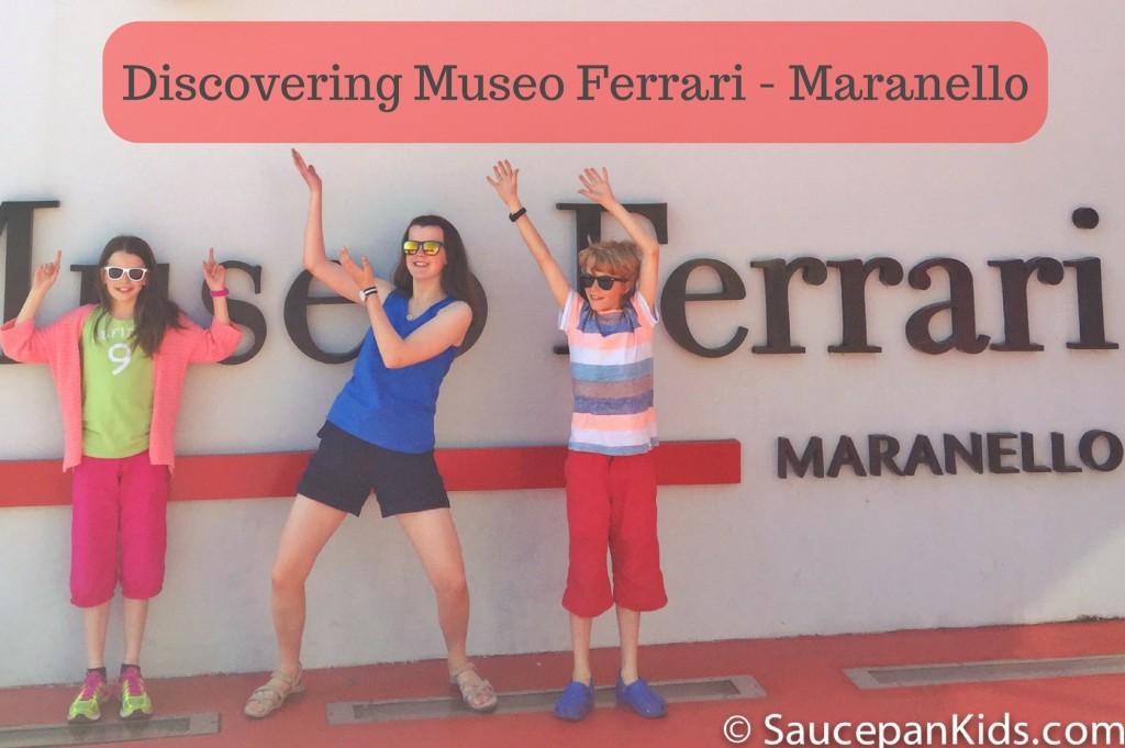 Ferrari feast at Museo Ferrari Maranello