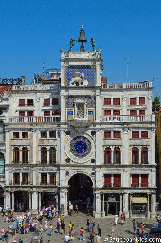 Clock in Venice