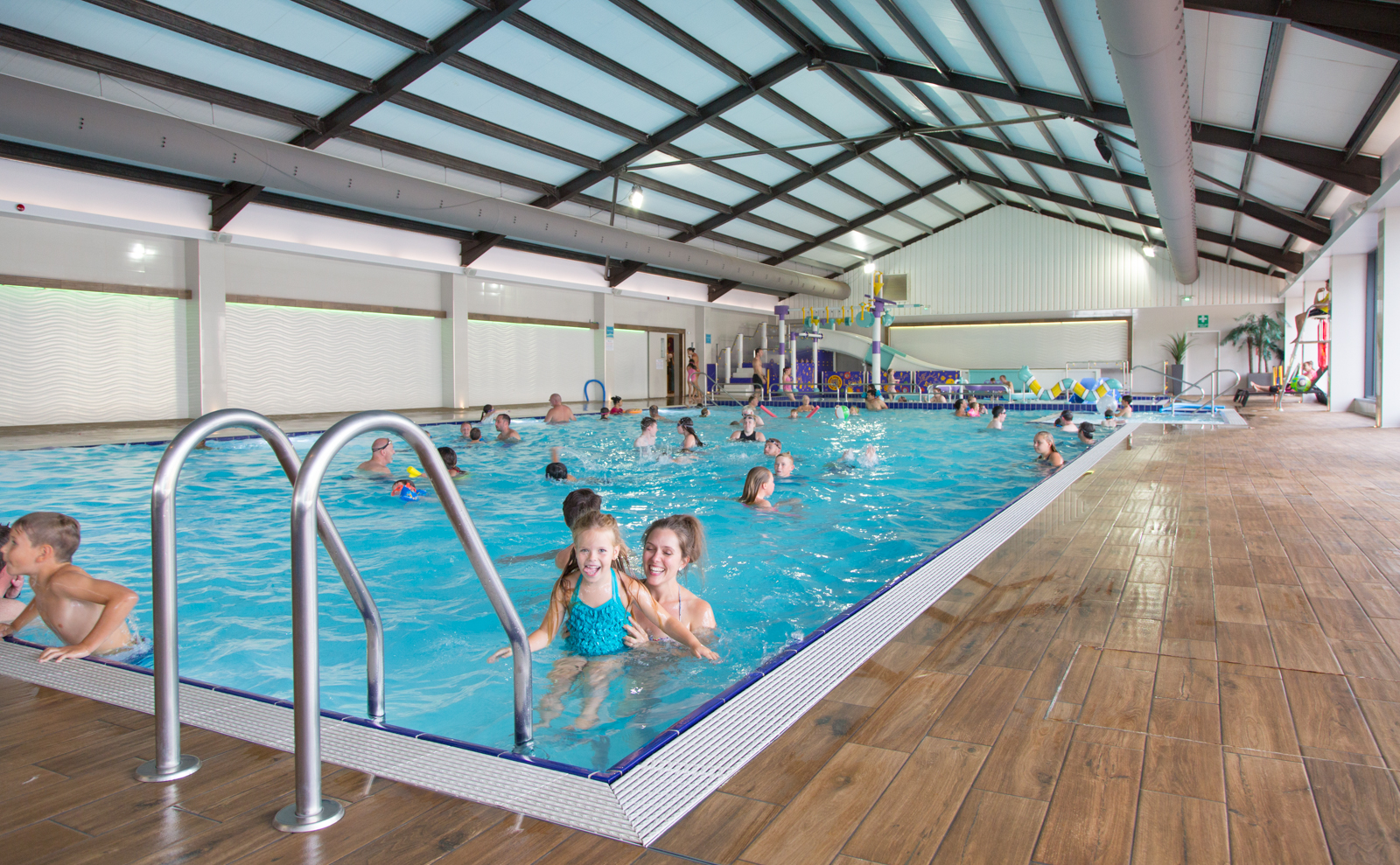 Ladram Bay Holiday Park Devon - Swimming Pool