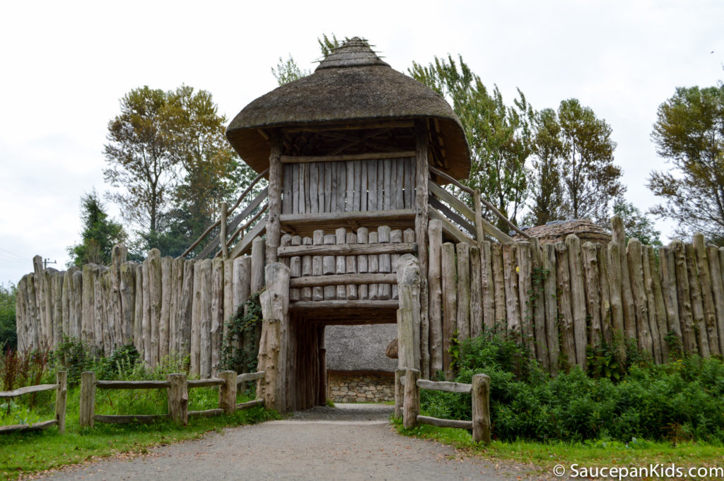 Irish National Heritage Park Ringfort Stayover review - by Saucepan Kids - The Ringfort