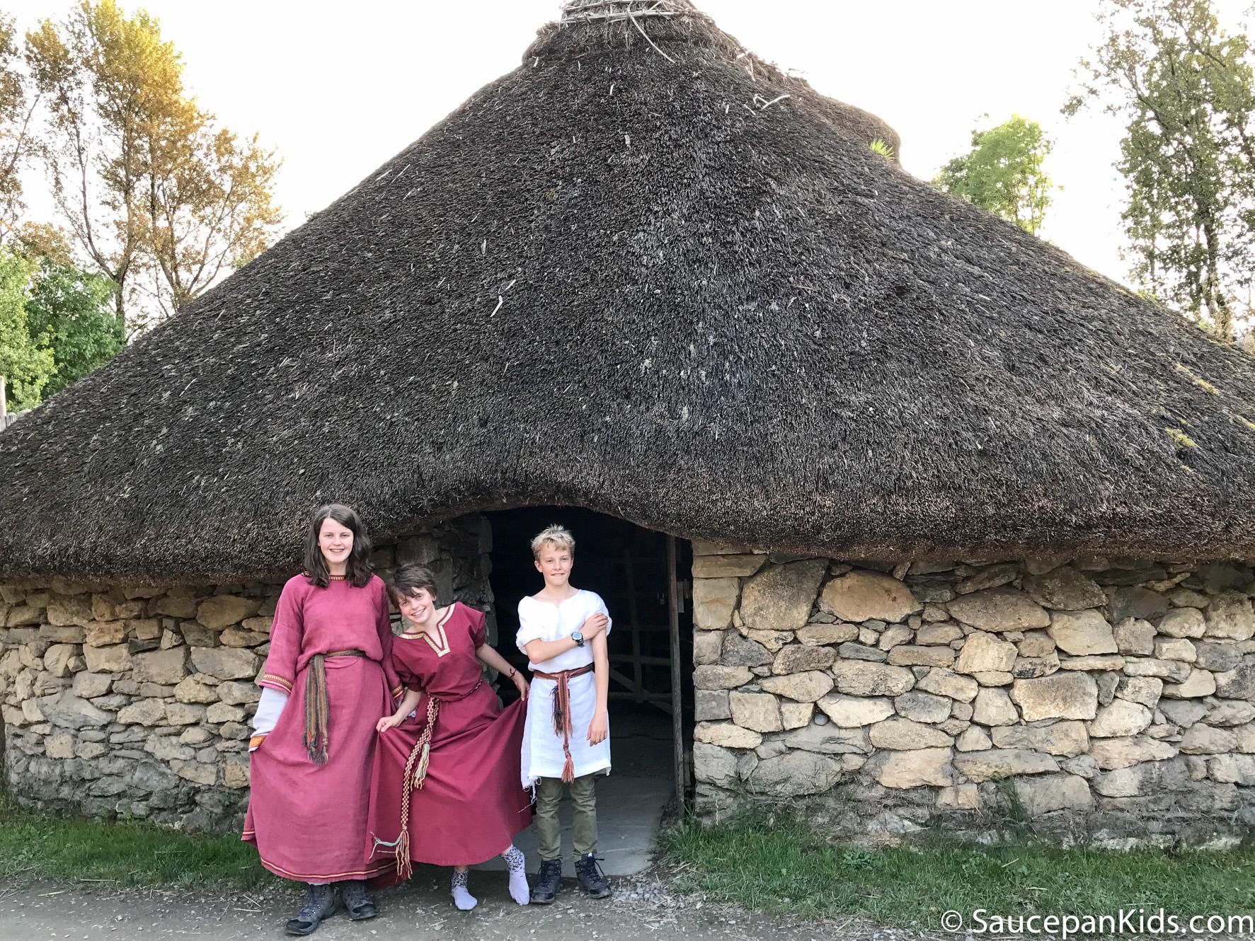 Irish National Heritage Park Ringfort Stayover review - by Saucepan Kids