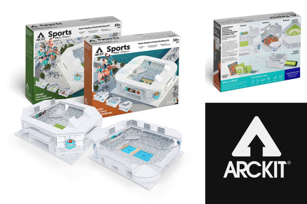Saucepan Kids introduce Arckit Sports Stadium kits - Christmas Gift ideas for teenagers