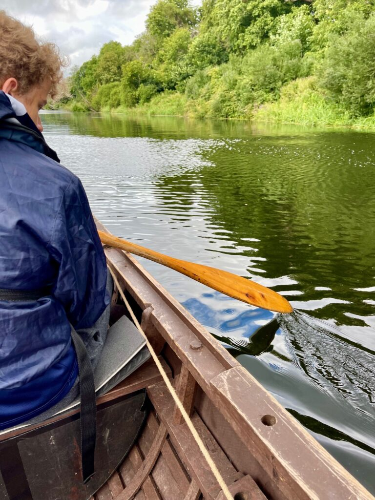 Saucepan Kids visit Boyne Valley - Top things to do with teenagers in the Boyne Valley - Boyne Boats tour