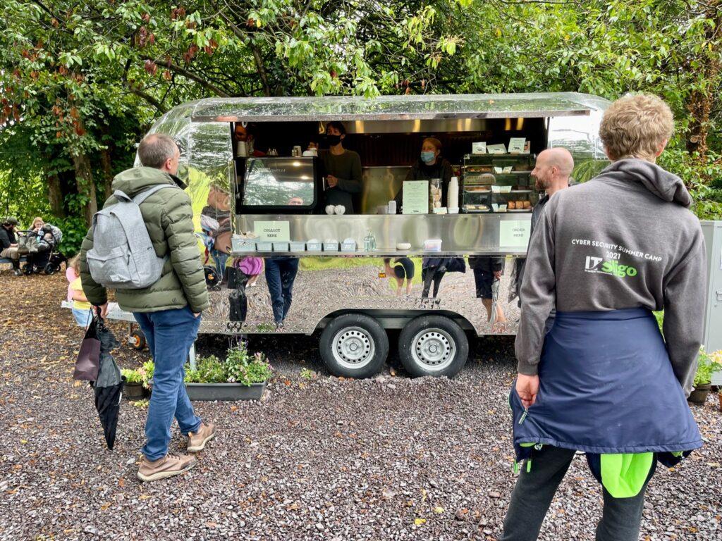 Saucepan Kids visit Boyne Valley - Top things to do with teenagers in the Boyne Valley - food truck