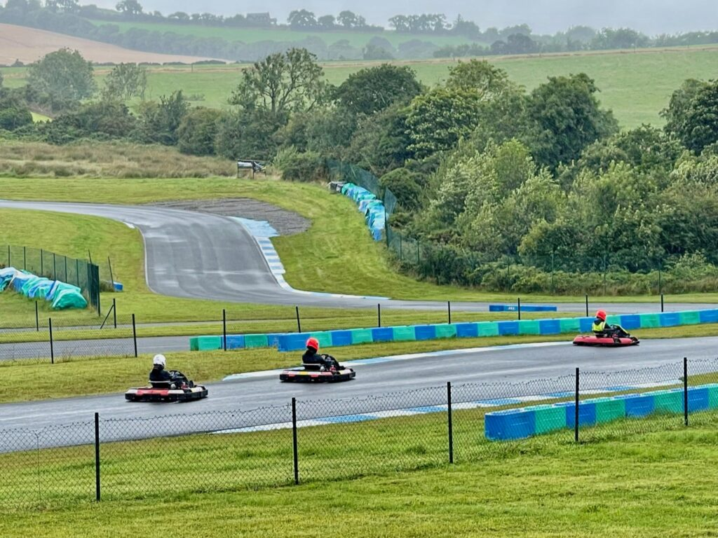 Saucepan Kids visit Boyne Valley - Top things to do with teenagers in the Boyne Valley - White River Karting - track