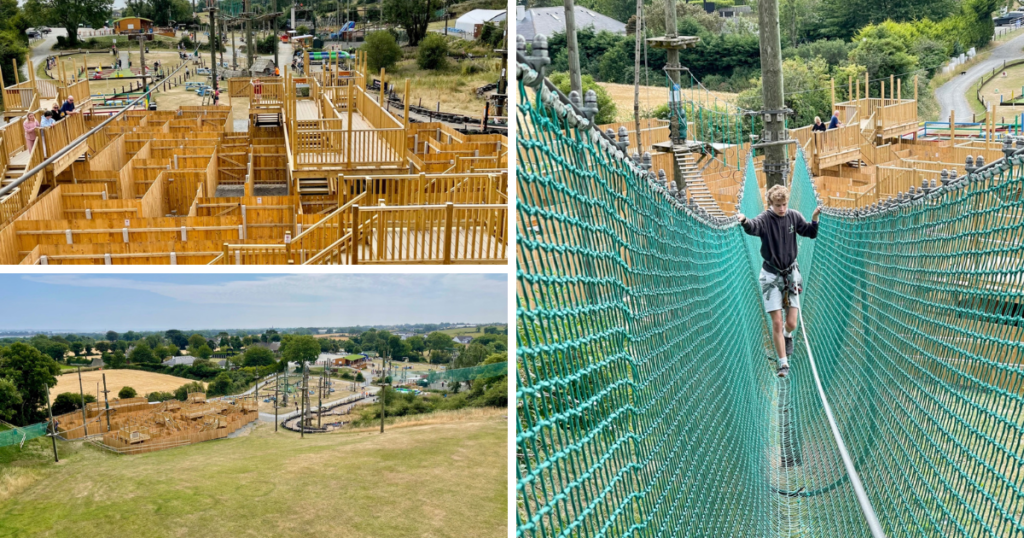 Saucepan Kids visit and review Fairways Hotel INua Collection - Top family friendly hotels in Ireland - Top things to do with teens in Ireland - Carlingford Skypark high ropes