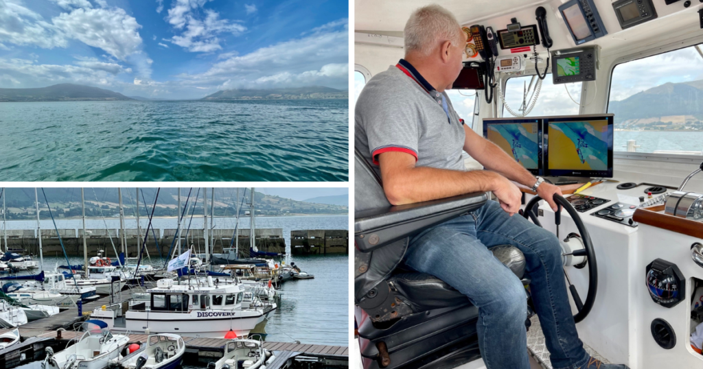 Saucepan Kids visit Carlingford Boat Tours - Fairways Hotel - top things to do with teenagers in Ireland's Ancient East - Paddy the Skipper