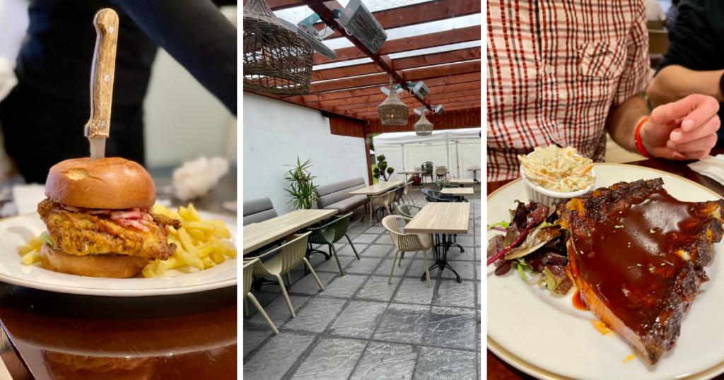 Saucepan Kids visit Boyne Valley - Top things to do with teenagers in the Boyne Valley - Glenside Hotel - dinner in Henrys