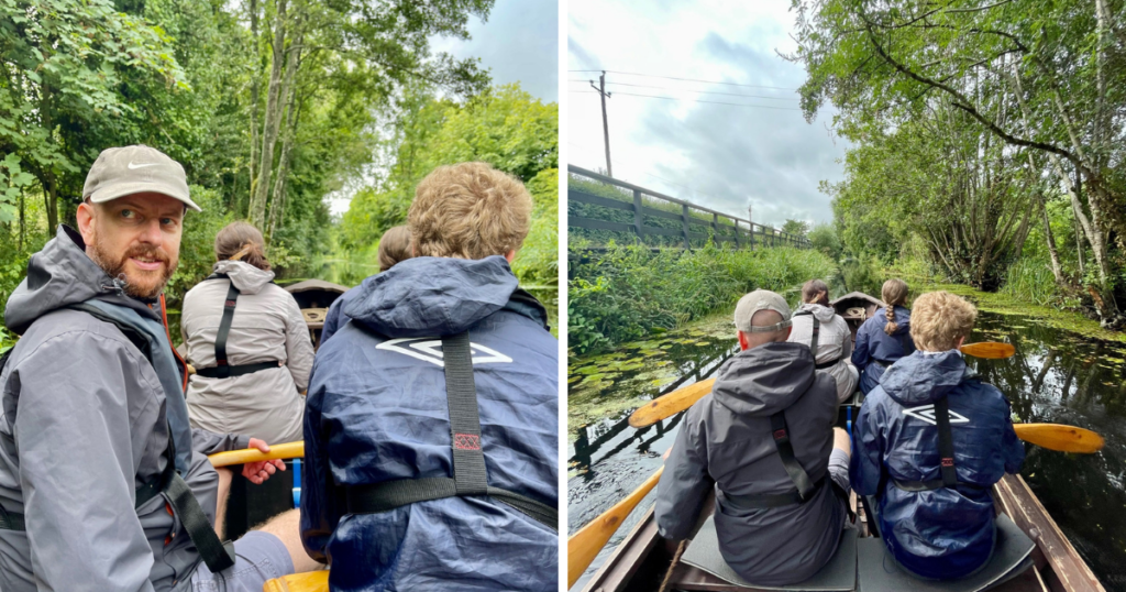 Saucepan Kids visit Boyne Valley - Top things to do with teenagers in the Boyne Valley - Boyne Boats