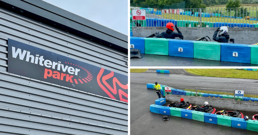 Saucepan Kids visit Boyne Valley - Top things to do with teenagers in the Boyne Valley - White River Karting