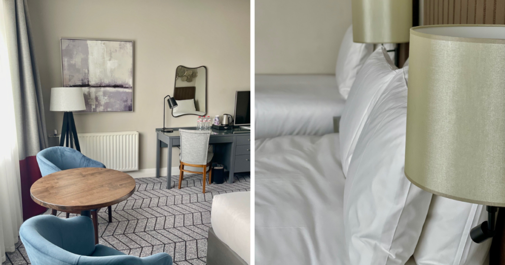 Untitled design-5Saucepan Kids visit and review Fairways Hotel INua Collection - Top family friendly hotels in Ireland - Top things to do with teens in Ireland - Family bedroom
