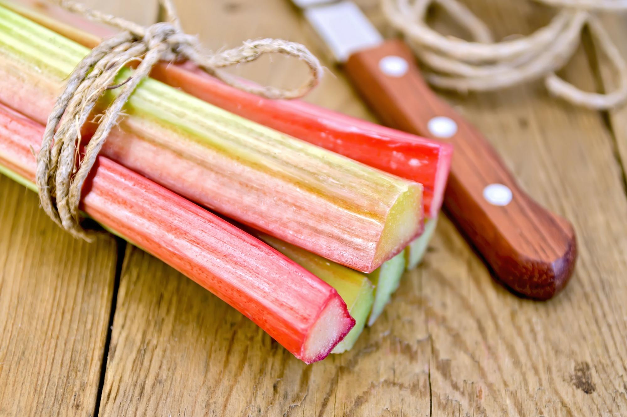 Saucepan Kids - honey-baked rhurbarb with home grown rhubarb - things to do with rhubarb