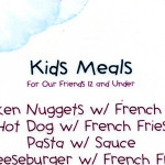 Why Kids Menus?