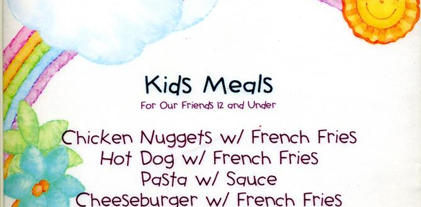 Why Kids Menus?