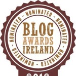 Saucepan Kids nominated for Blog Awards Ireland 2012!!