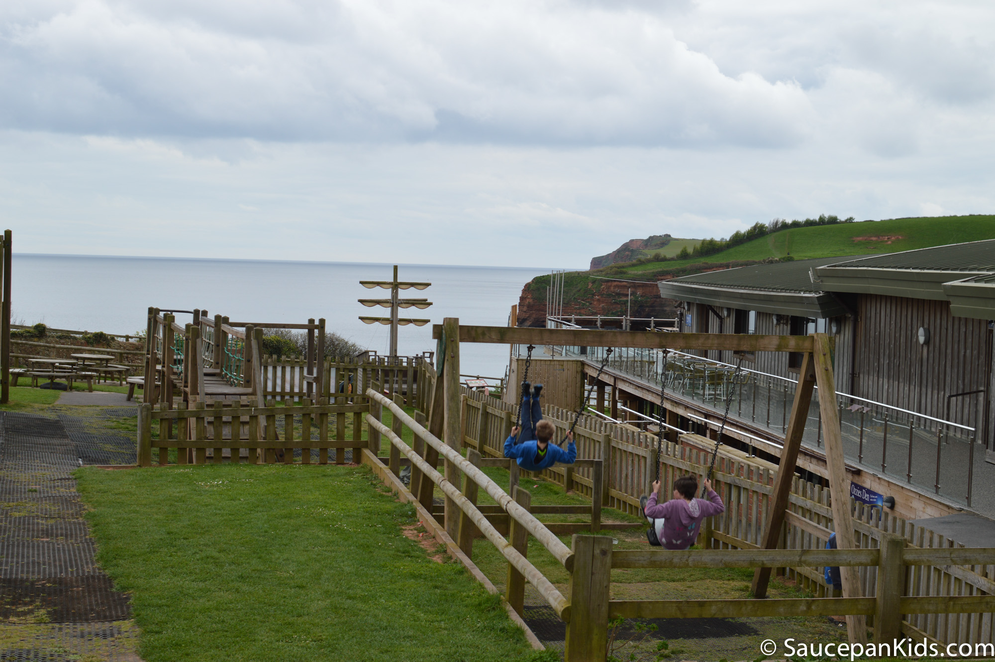 saucepan Kids review Ladram Bay Holiday Park in Devon - a good value and fun family holiday in UK