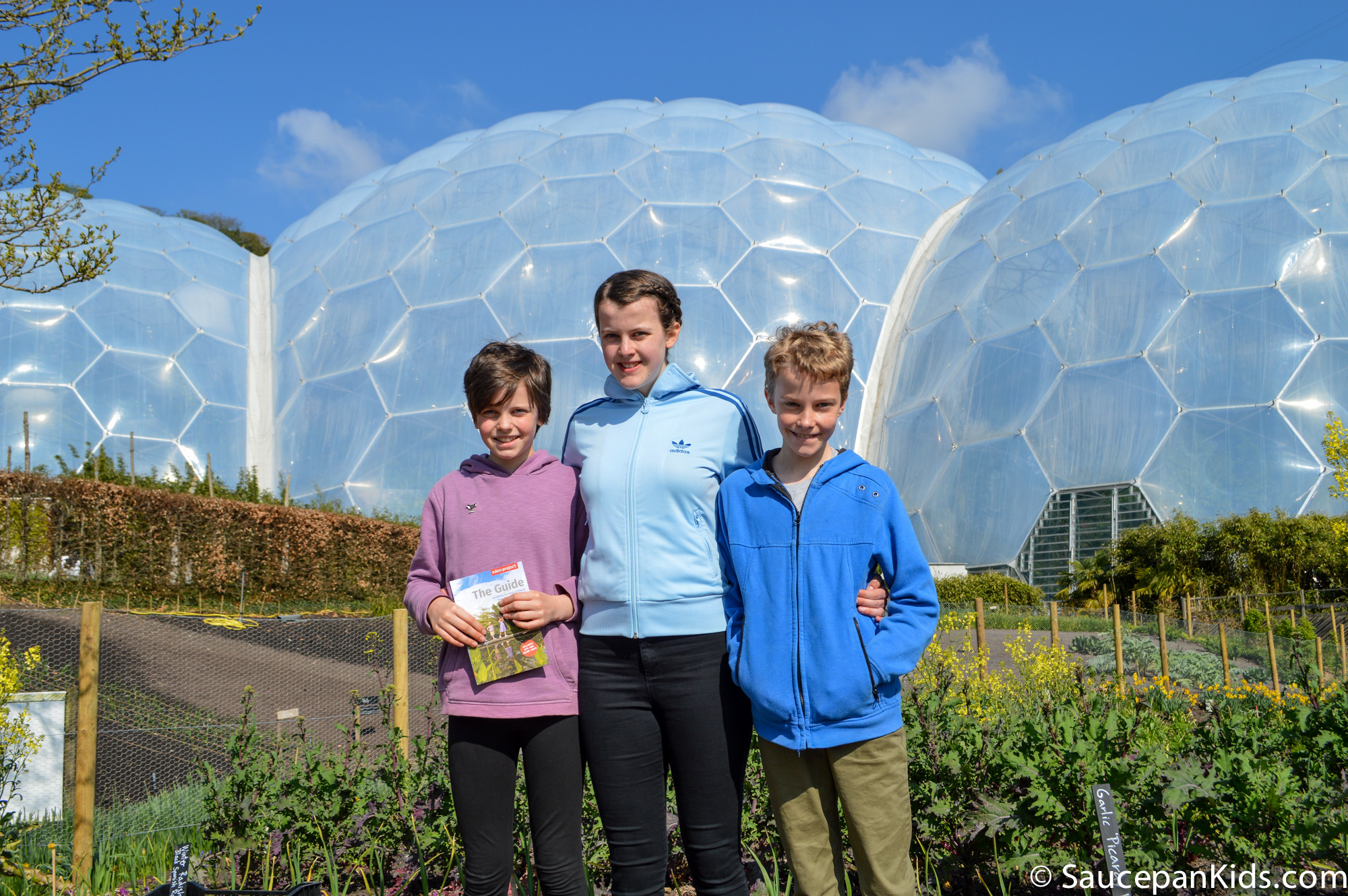 Saucepan Kids review Eden Project Cornwall