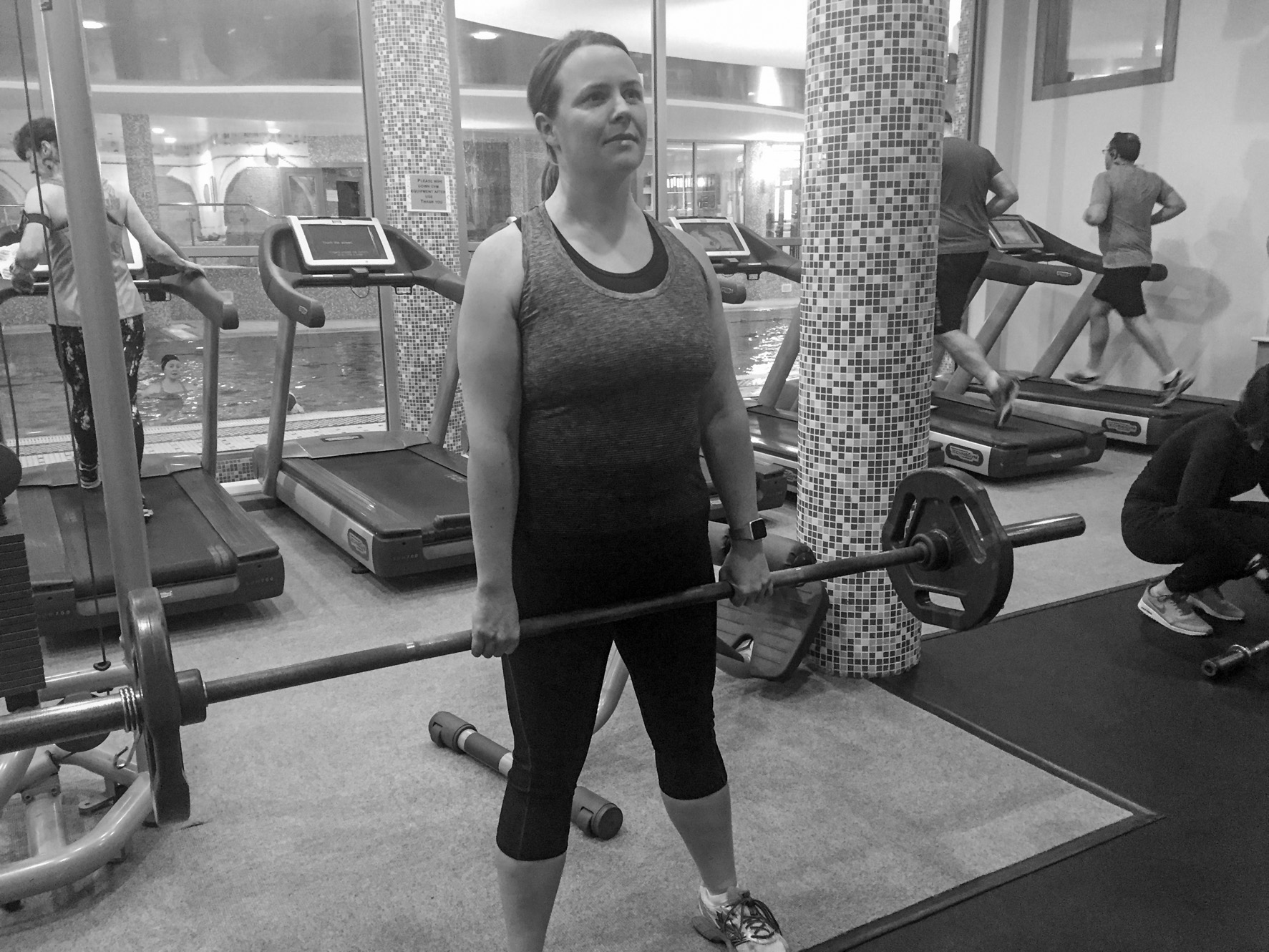 Getting fit at Avena Leisure Sligo - Saucepan Kids Debbie Woodward Why women should lift weights