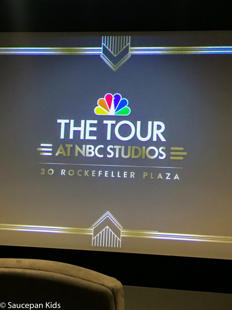 Saucepan Kids do the TV & Manhattan Movie Locations Tour with NBC Studio Tour with Take Walks NYC - Top things to do with kids in New York - Family friendly things to do in New York - NBC Studio Tour