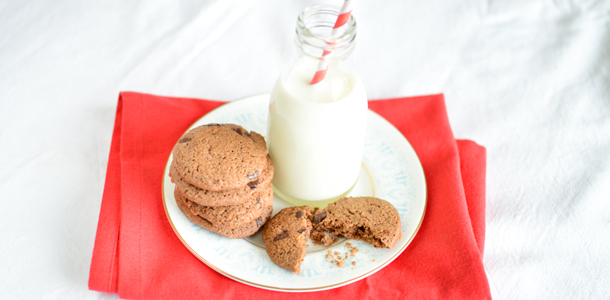 Super quick chocolate cookies recipe