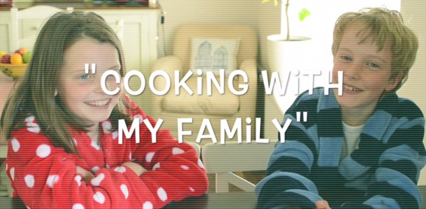 Cooking with my family – In Conversation