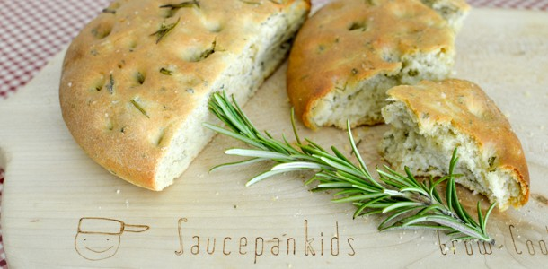 quick focaccia bread - video