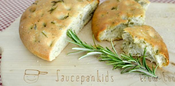 quick focaccia bread - video