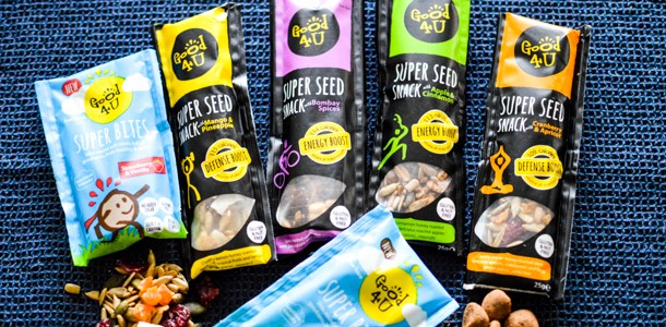 Super Seed Snacks for Superheros