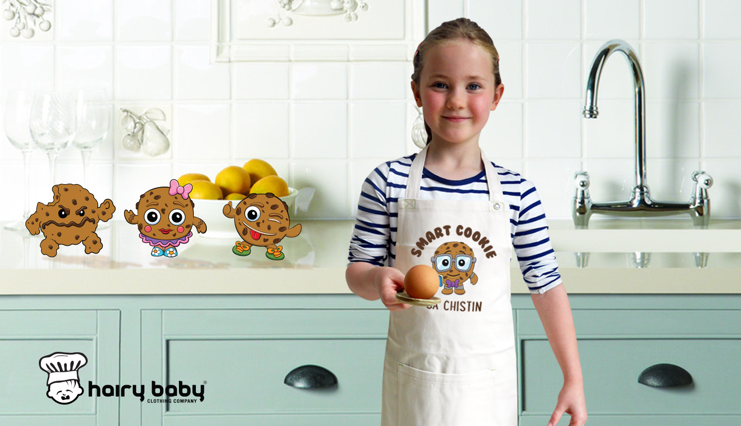 Hairy Baby organic kids aprons competition hosted by Saucepan Kids
