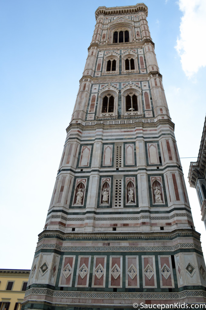 The Giotto Bell Tower in Florence, Italy - Saucepan Kids