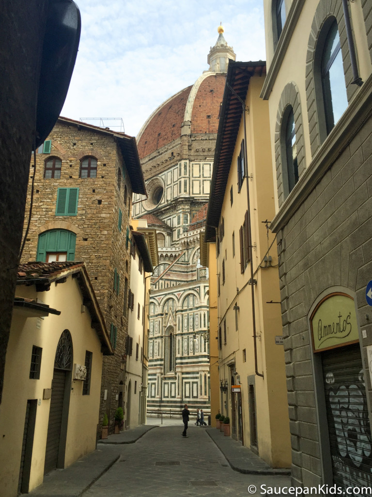 View of the Duomo Cathedral in Florence, Italy