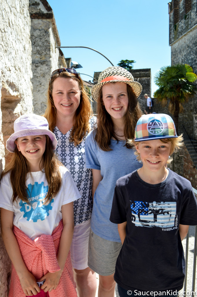Wandering around Sirmione - Things to do with kids in Lake Garda Italy