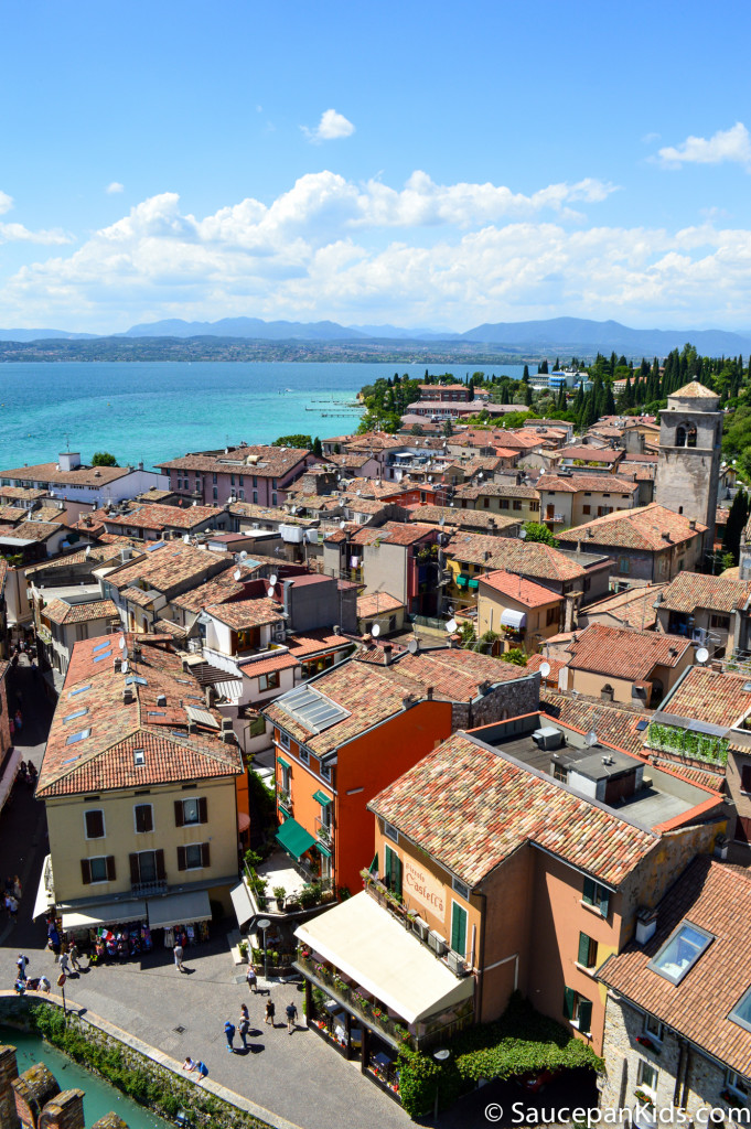 View of the peninsula where Sirmione is located - Lake Garda Italy - Things for kids to do in Lake Garda