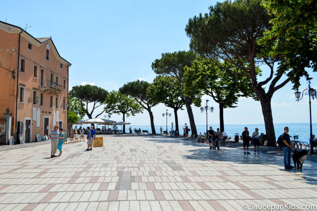 Visiting Bardolino in Lake Garda - things to do with kids in Lake Garda