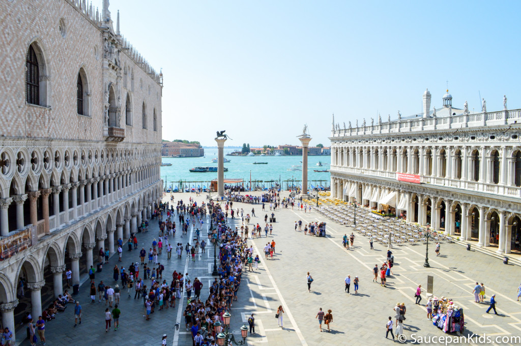 St. Mark's square Venice Italy - Saucepan Kids - things to do in Venice with kids