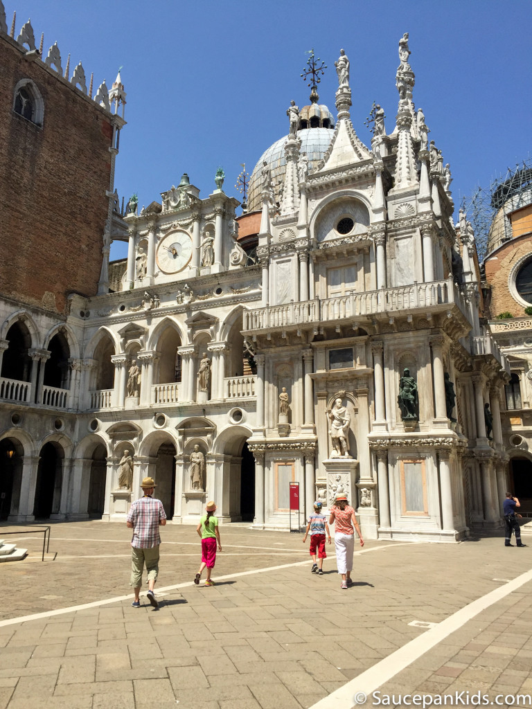 Doge's Palace - Saucepan Kids - things to do in Venice with kids