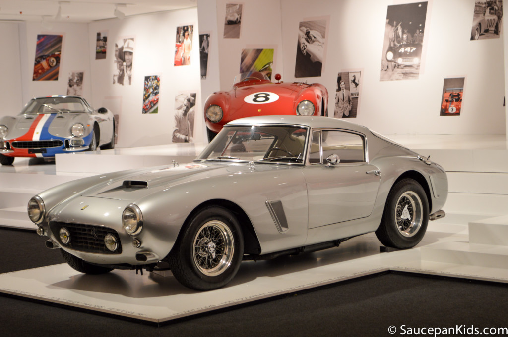 Saucepan Kids visit Museo Ferrari at Maranello Italy - things to do in Emilia-Romagna