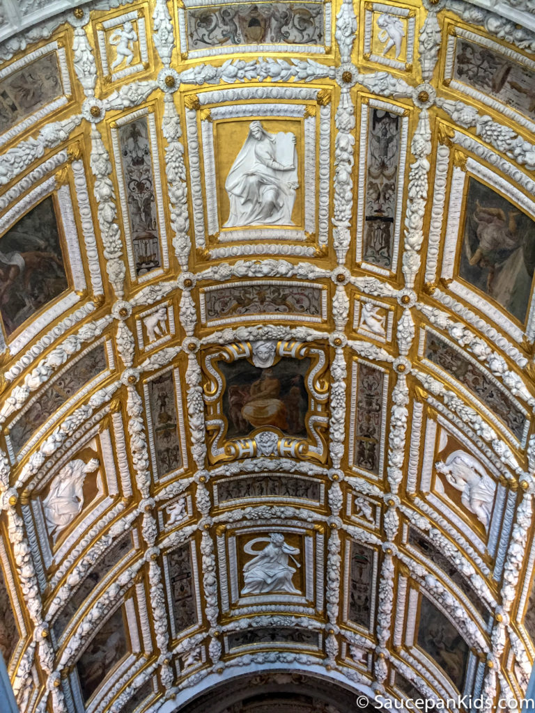 Gold ceilings in the Doge's Palace