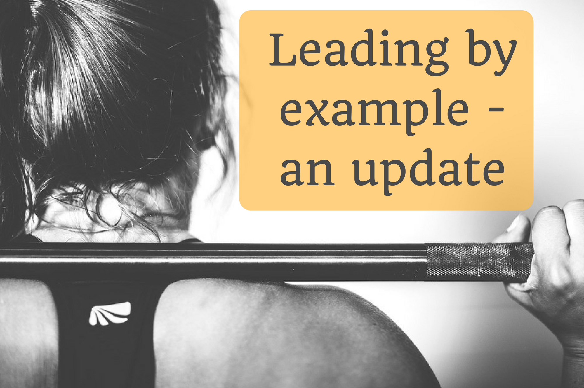 Leading by example - an update on Debbie Woodward's Saucepan Kids fitness journey