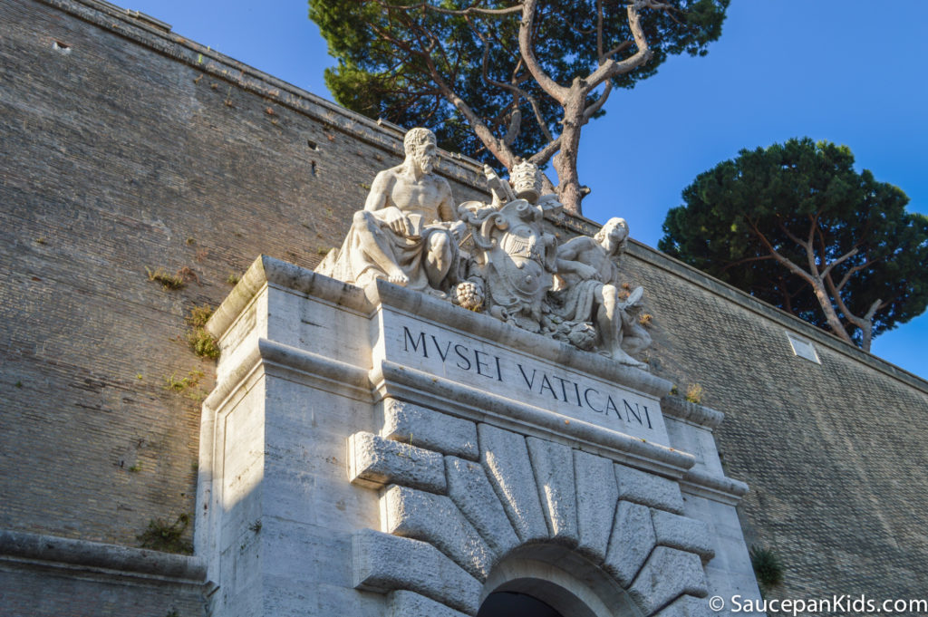 Entrance to the Vatican