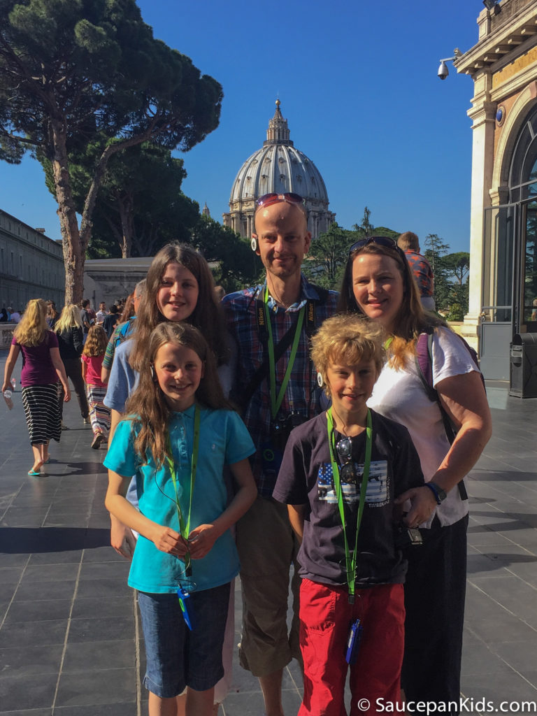 Vatican Tour - Saucepan Kids and the Dome